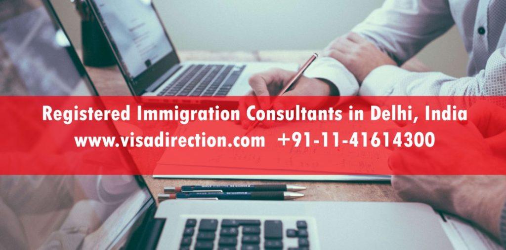 MARA registered Immigration Consultants in Delhi, India
