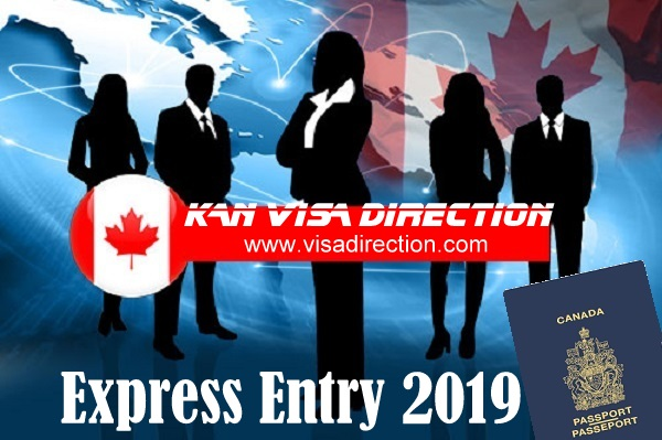Latest Express Entry Draw 2019 - visa direction