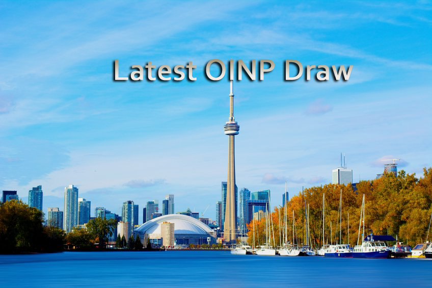 Latest OINP Draw